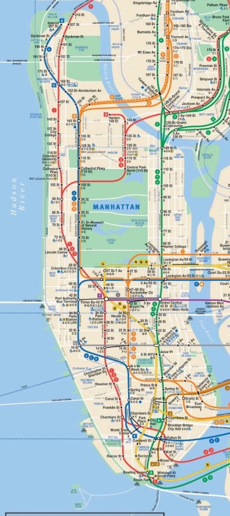 Manhattan subway