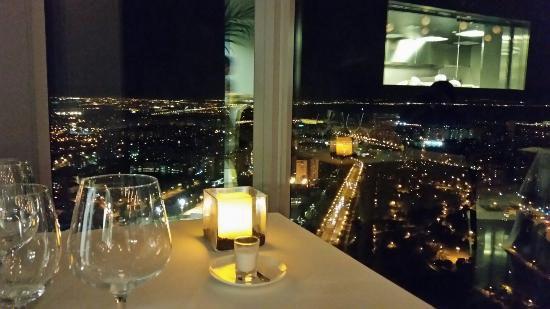 Vista desde el restaurante Espacio 33
