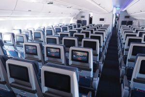 Delta economy cabin