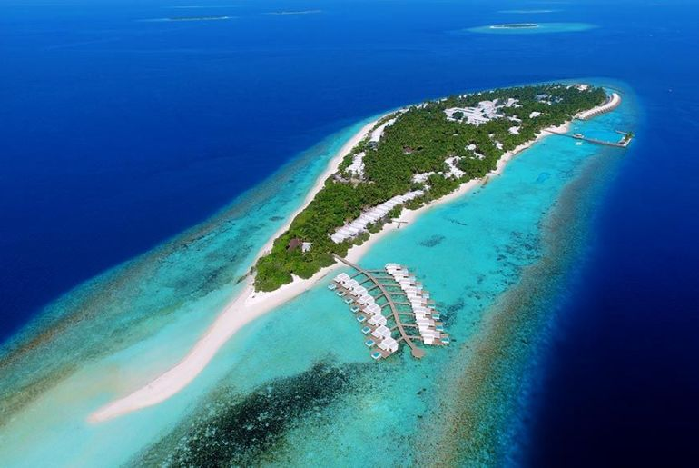 Dhigali Maldivas Aereal