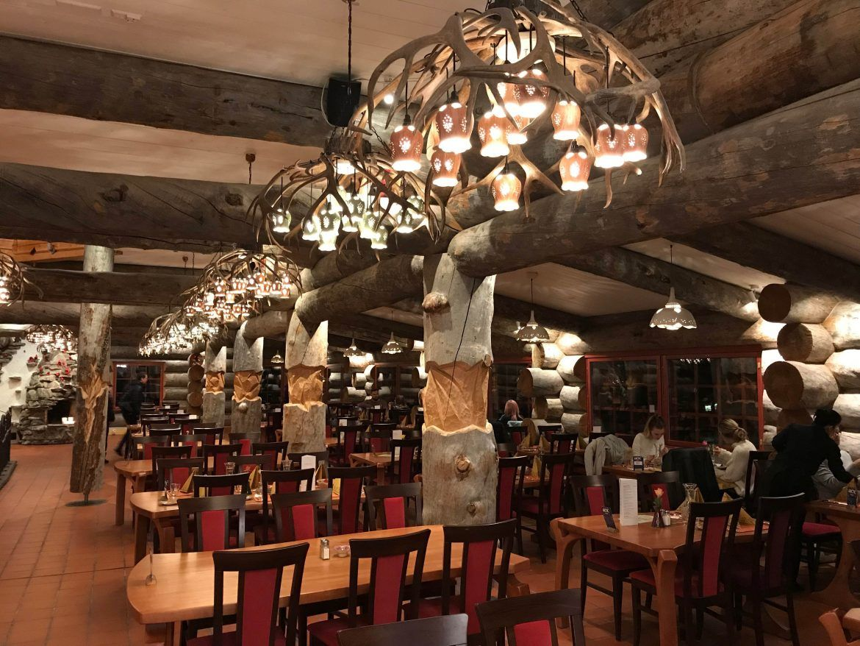Restaurante Kakslauttanen