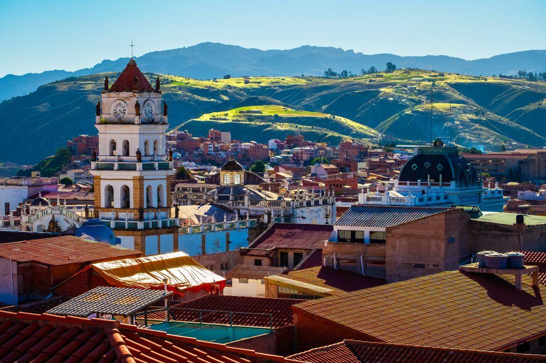 Viajar a Bolivia. Sucre