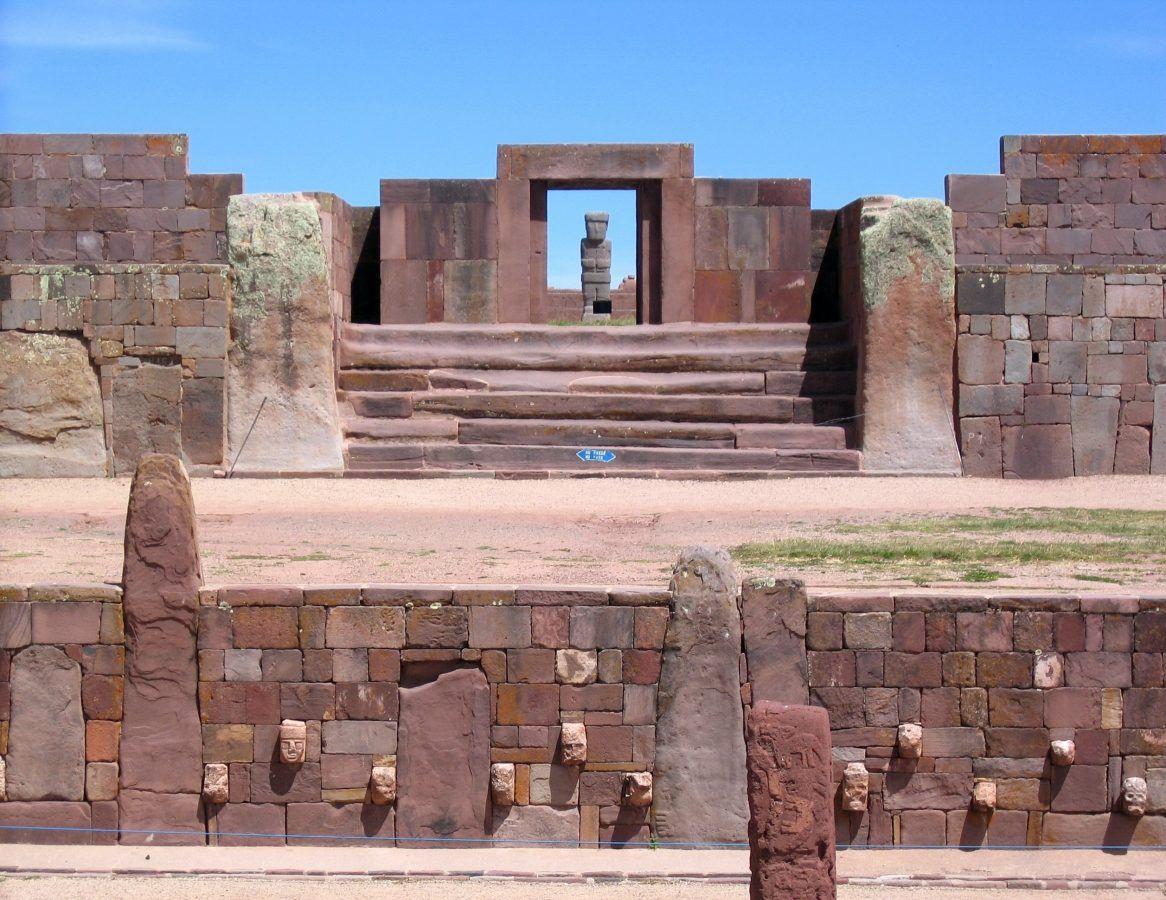 Viajar a Bolivia. tiahuanaku