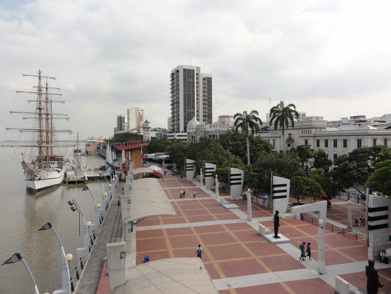 Viajar a Guayaquil. Malecón 2000