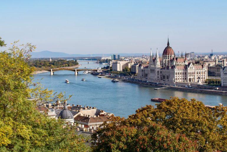 foto panorámica de Budapest