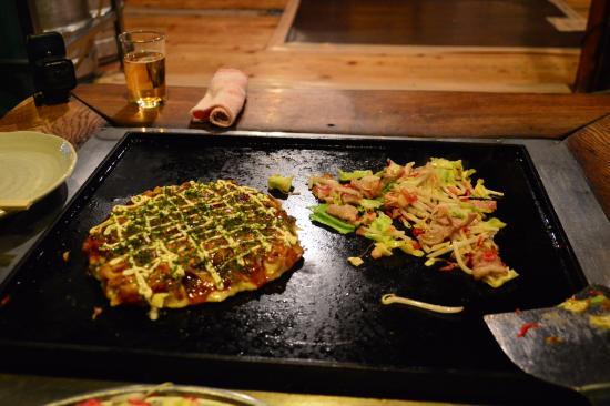 okonomiyaki, Tokio, Japón