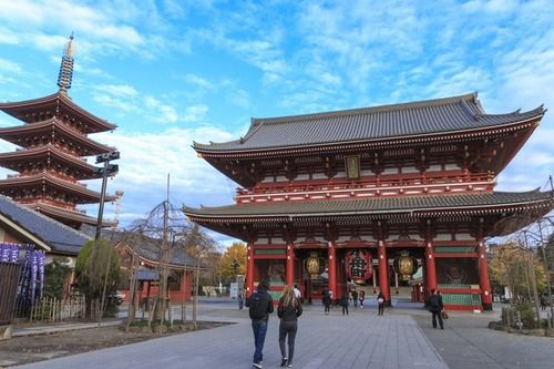 viajar a Tokio, Asakusa
