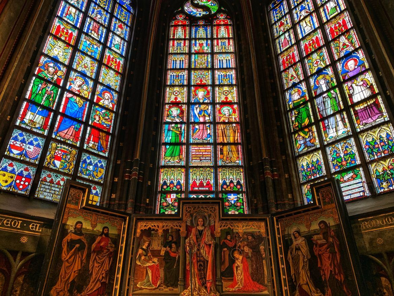 viajar amberes. catedral