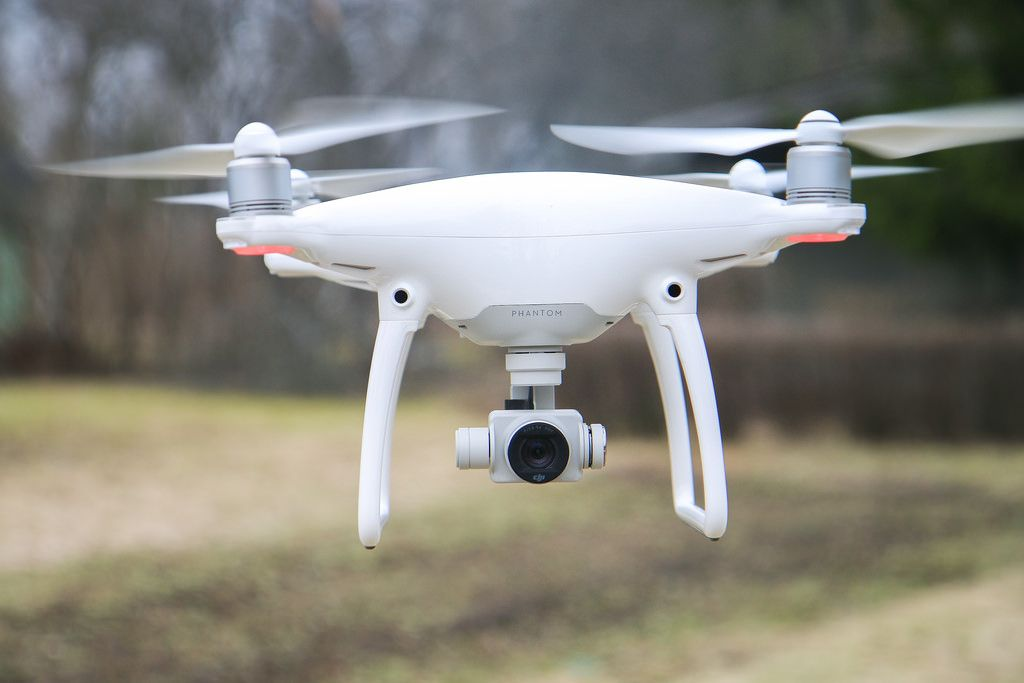 viajar con drone phantom 4