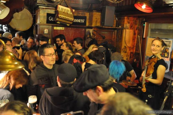 Volles Haus bei den Porters. Copyright: Pics from Gigs