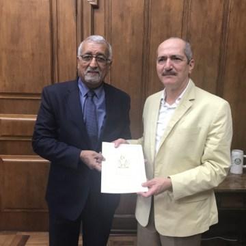 Representante saharaui en Brasil recibido en la sede del gobierno del estado de Sao Paulo | Sahara Press Service