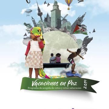 Nuevo cartel de Vacaciones en Paz / VeP CEAS-Sáhara
