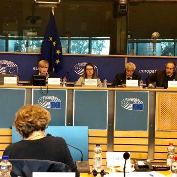 Bruselas: delegación del Polisario con el grupo GUE del Parlamento Europeo para hablar del #SaharaOccidental y la sentencia del #TJUE