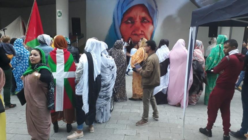Celebración del día de la Unidad Saharaui en Donosti