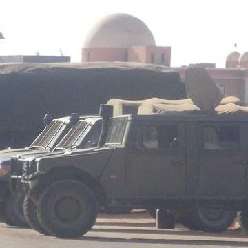 Armamento marroquí de fabricación española en las zonas ocupadas del Sáhara Occidental. — El Confidencial Saharaui