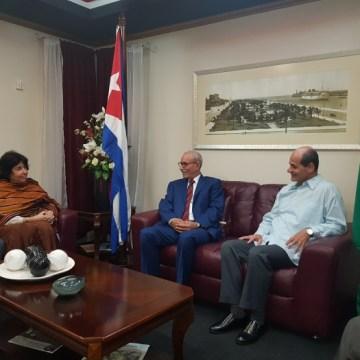 Le président de la République entame une visite officielle à Cuba | Sahara Press Service