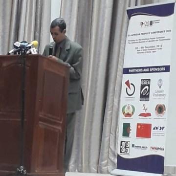 El Frente Polisario participa en la conmemoración del 60º aniversario de la conferencia de todos los pueblos de África | Sahara Press Service