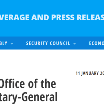Daily Press Briefing by the Office of the Spokesperson for the Secretary-General | Meetings Coverage and Press Releases