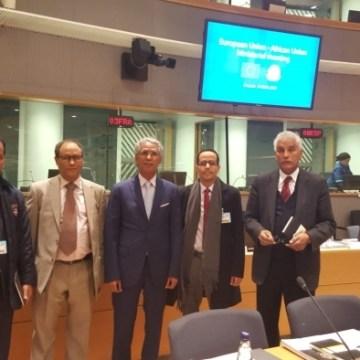 """""""La presencia de la República Saharaui en la reunión de Bruselas ha hecho fracasar los intentos marroquíes de exterminar al pueblo saharaui""""(ministro de AE)   Sahara Press Service"""