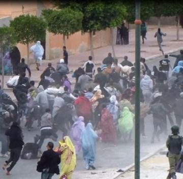 Continúa la represión de manifestantes saharauis en las ZZ.OO | Sahara Press Service