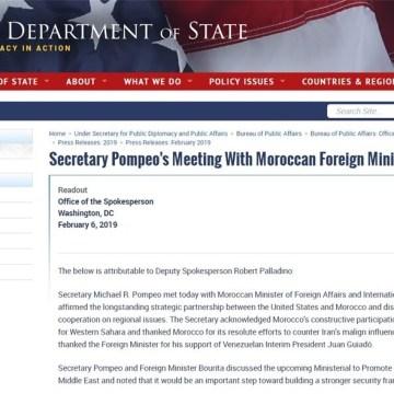 Marruecos fracasa en su relación con la Administración de Donald Trump por el Sahara Occidental | DIARIO LA REALIDAD SAHARAUI
