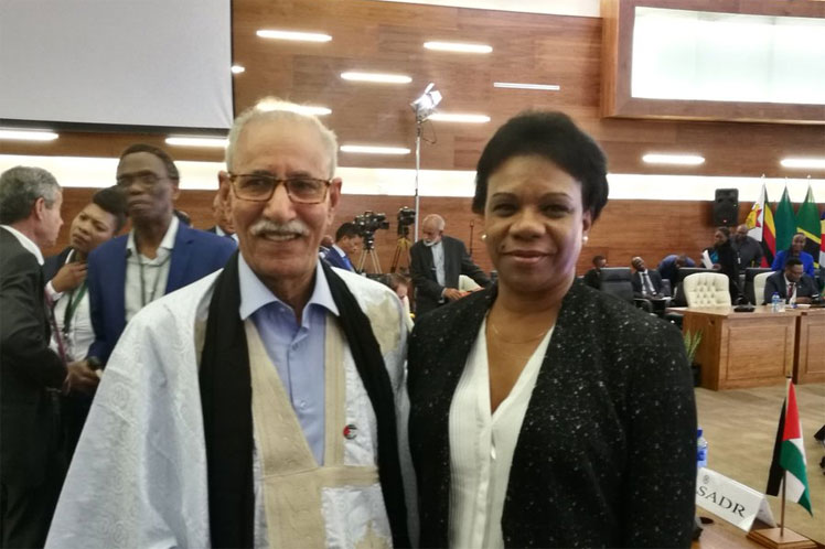 Sudáfrica: Cuba ratifica su respaldo a causa del pueblo saharaui (+Fotos y Videos)