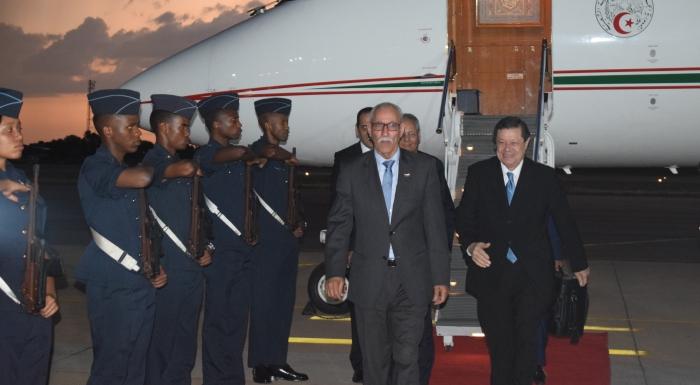 El Presidente de la República llega a Sudáfrica para asistir a la Cumbre de SADC de solidaridad con el pueblo saharaui | Sahara Press Service