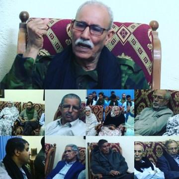 Sahara occidental: «la politique barbare de l'ennemi ne découragera pas les Sahraouis de lutter pour la liberté» (Président de la République) | Sahara Press Service