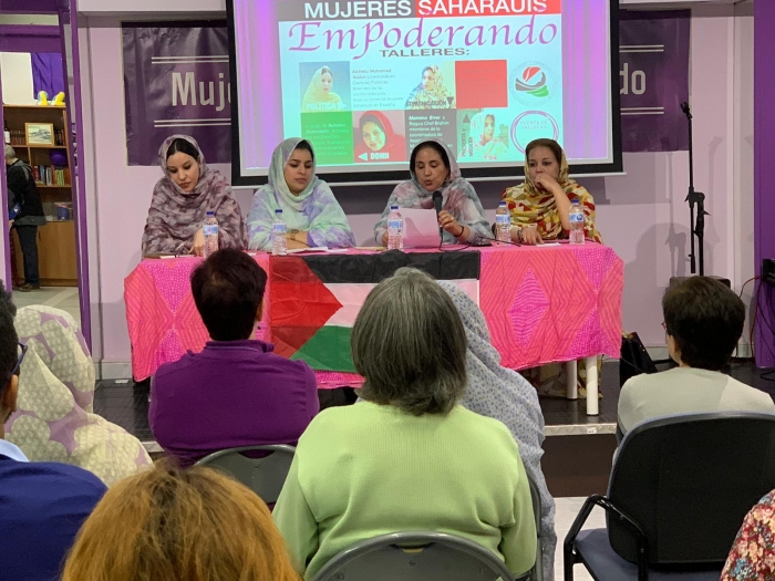 Organizan en Madrid talleres y charla sobre el rol de la mujer en la lucha saharaui | Sahara Press Service