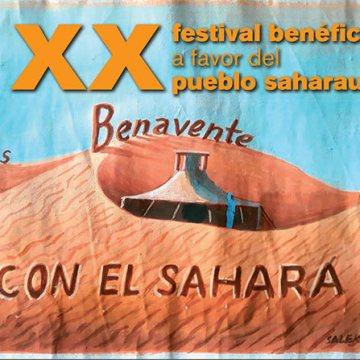 XX Festival benéfico a favor del pueblo saharaui en Benavente   Interbenavente