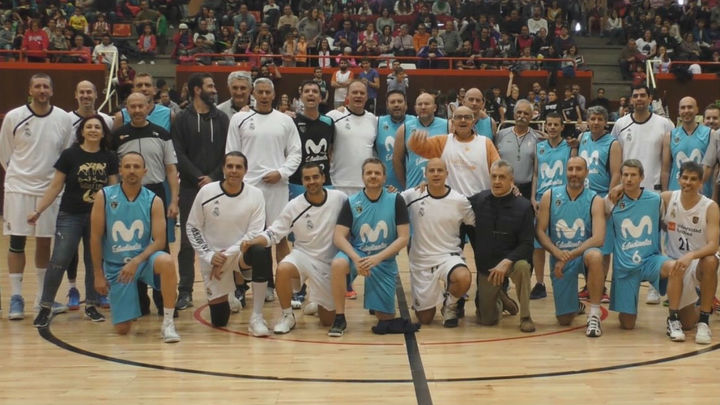 Los veteranos del Madrid y Estudiantes se 'mojan' por el Sáhara