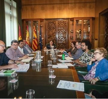 Reunión de la Comisión Informativa sobre el Sahara Occidental (CISO) del Ayuntamiento de Zaragoza – Um Draiga