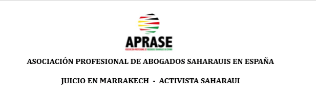Nota sobre la suspensión del juicio #Marrakech contra activista saharaui #HuseinBachir que lleva más de 4 meses en prisión marroquí