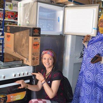 Yoanna Irigaray dedica los ingresos de su primer libro a 'modernizar' un campamento saharaui / Navarra-com