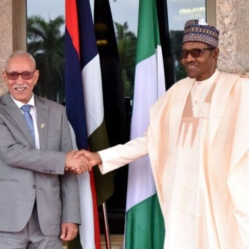 Buhari Restates Nigeria's Support For Sahrawi Republic | Sahara Press Service