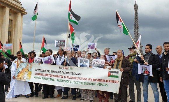 Un rassemblement à Paris pour dénoncer les violations des droits de l'Homme au Sahara occidental