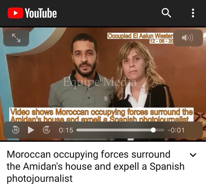 MARRUECOS / SÁHARA OCCIDENTAL | La fotoperiodista Judith Prat, expulsada por la policía marroquí del Sáhara Occidental :: Reporteros Sin Fronteras