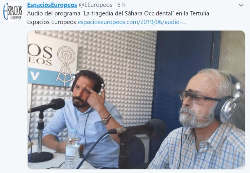 La tragedia del Sáhara Occidental en La Tertulia Espacios Europeos en mp3 – iVoox