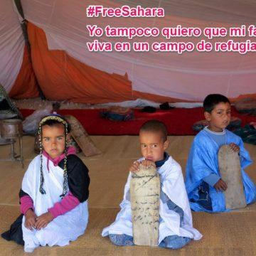 ¡Ninguna persona elige vivir en un campo de personas refugiadas! #FreeSahara  🇪🇭