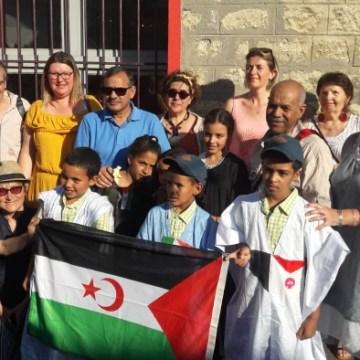 La Mairie d'Ivry sur seine reçoit les enfants sahraouis | Sahara Press Service