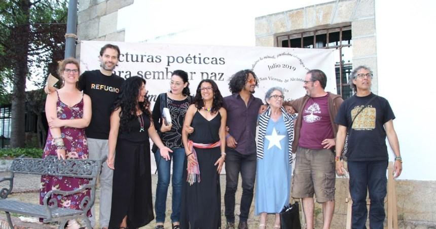 """Generación de la Amistad saharaui: La poesía saharaui de Salka Embarek presente en las """"Lecturas poéticas para sembrar la paz en Extremadura"""""""