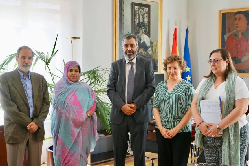 Delegación saharaui se reúne con la directora de AECID para abordar la cooperación en el ámbito educativo | Sahara Press Service