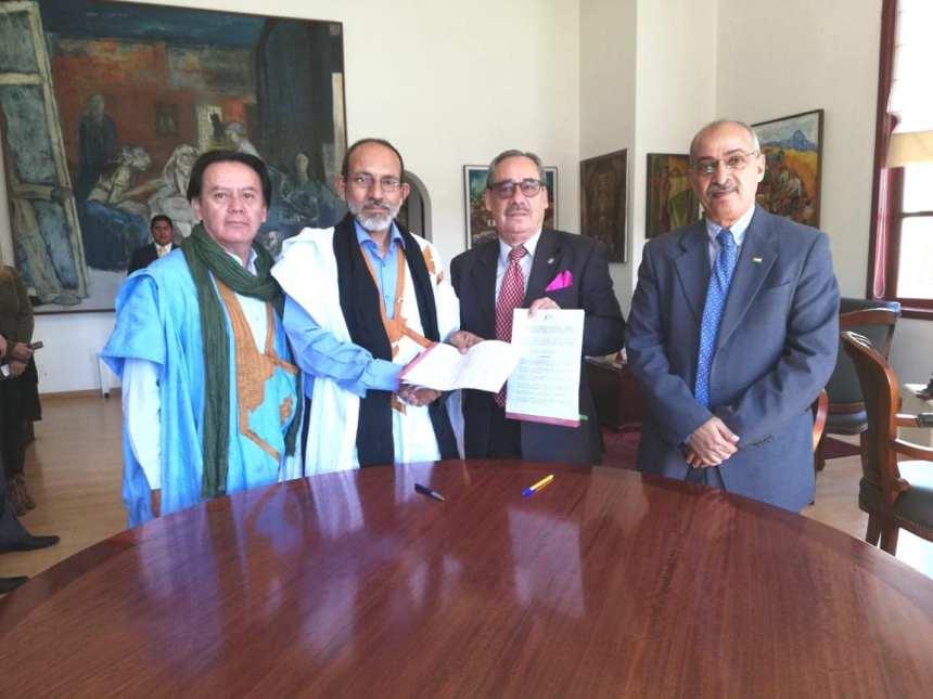 Memorando de Entendimiento entre la Embajada de la RASD y la Casa de la Cultura Ecuatoriana estrecha los lazos culturales entre los pueblos del Sáhara Occidental y el Ecuador | Sahara Press Service