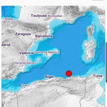 Terremoto de 4.0 sacude la costa norte de Argelia