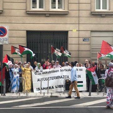 Vitoria-Gasteiz: Denunciamos la brutal represión contra la población saharaui en el Sahara Occidental ocupado
