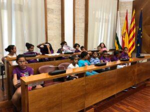 Recepció a l'Ajuntament de Sabadell –