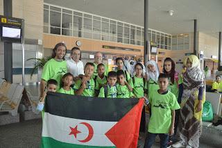 Llegan a Segovia los niñ@s saharauis — Segovia con el Sáhara