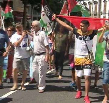 CANARIAS: Concentración en apoyo del pueblo saharaui – Noticias – Informativos RTVC.es