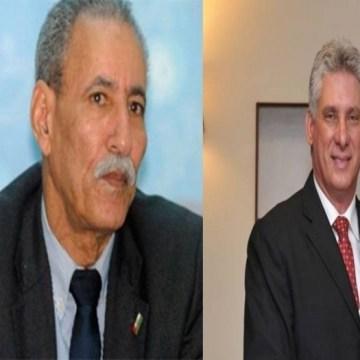 El Presidente Brahim Ghali felicita a su homólogo cubano con motivo de la celebración del Día de la Rebeldía Nacional | Sahara Press Service