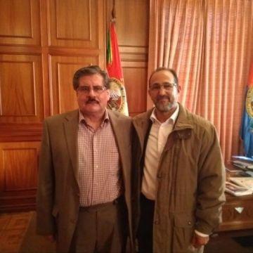 Rector de la UMSA recibe a embajador saharaui — Sahara Press Service
